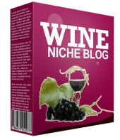 Pre-Made Wine Niche Website Template with private label rights
