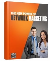 The New Power of Network Marketing eBook with private label rights