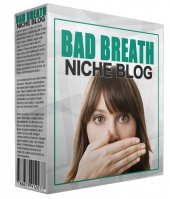 New Bad Breath Niche Blog Template with private label rights