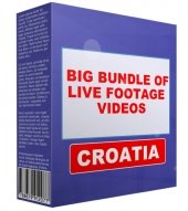 Big Bundle Of Live Footage Videos - Croatia Video with Personal Use Rights
