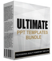 Ultimate Powerpoint Templates Bundle Graphic with Personal Use Rights
