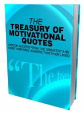 The Treasury of Motivational Quotes eBook with Master Resell Rights