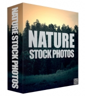 Nature Stock Photos Graphic with Resell Rights