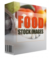 Food Stock Images Graphic with Resell Rights