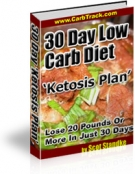30 Day Low Carb Diet 'Ketosis Plan eBook with Resell Rights