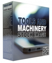 Tools and Machinery Stock Images Graphic with Resell Rights
