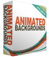 Animated Backgrounds Volume 4 Video with Personal Use Rights
