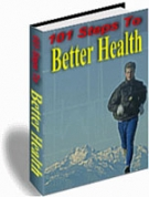 101 Steps To Better Health eBook with Resell Rights