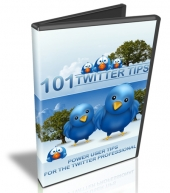 101 Twitter Tips Video with Resell Rights