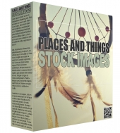 Places and Things Stock Images Graphic with Resell Rights