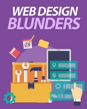 Web Design Blunders eBook with private label rights