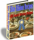 Blue Ribbon Recipes eBook with Resell Rights