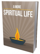 A More Spiritual Life eBook with private label rights