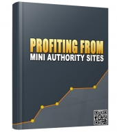 Profiting From Mini Authority Sites eBook with Master Resell Rights/Giveaway Rights
