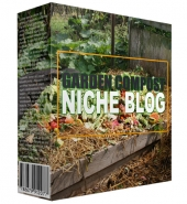 Garden Compost Niche Blog Template with private label rights