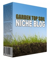 Garden Top Soil Niche Blog Template with private label rights