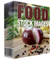 New Food Stock Images Graphic with Resell Rights