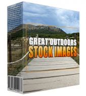 Great Outdoors Stock Images Graphic with Resell Rights