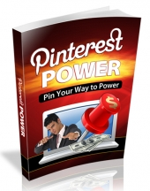 Pin Your Way to Power eBook with private label rights