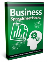 Business Spreadsheet Hacks Video with Private Label Rights