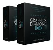 Graphics Diamond Box Graphic with Personal Use Rights/Developers Rights