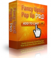 Fancy Upsell Popup Pro Software with private label rights