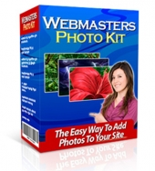 Webmasters Photo Kit Software with Master Resell Rights/Giveaway Rights