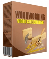 Woodworking Video Site Builder Software with private label rights