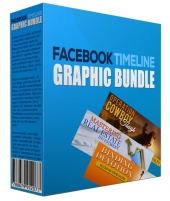 New  Facebook Timeline Graphic Bundle eBook with Personal Use Rights/Developers Rights