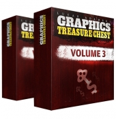 Graphics Treasure Chest V3 Graphic with Personal Use Rights