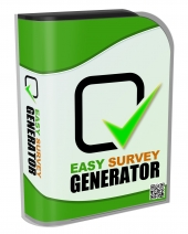 Easy Survey Generator Software with Resell Rights