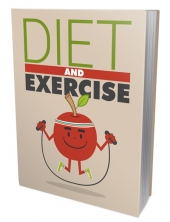 Diet and Excersice eBook with Master Resell Rights/Giveaway Rights