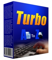 Turbo A to Z Indexing Software Software with Personal Use Rights