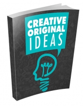 Creative Original Ideas eBook with Master Resell Rights/Giveaway Rights
