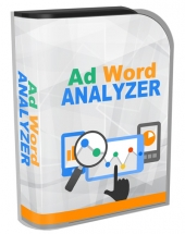 Ad Word Analyzer Software with private label rights