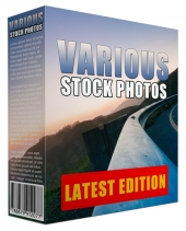 More Various Stock Photos Graphic with Resell Rights