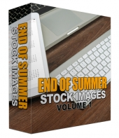 End Of Summer Stock Image Blowout Volume 01 Graphic with Personal Use Rights/Developers Rights