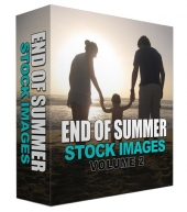 End Of Summer Stock Image Blowout Volume 02 Graphic with Personal Use Rights/Developers Rights