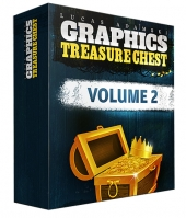 Graphics Treasure Chest V2 Graphic with Personal Use Rights/Developers Rights