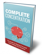 Complete Concentration eBook with Master Resell Rights