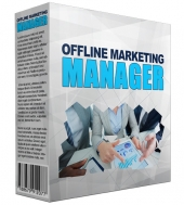 Offline Marketing Manager Software Software with Master Resell Rights