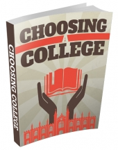 Choosing A College eBook with private label rights