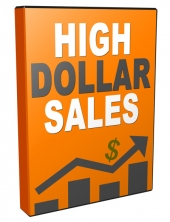 High Dollar Sales Video with Personal Use Rights