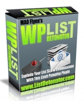 WP List Detonator Plugin Software with Personal Use Rights