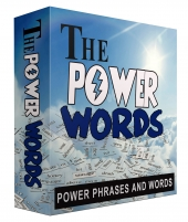 Power Phrases and Words Graphic with Personal Use Rights
