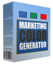 Marketing Color Generator Software with Master Resell Rights/Giveaway Rights