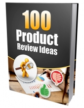 100 Product Review Ideas eBook with Private Label Rights