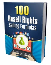 100 Resell Rights Selling Formulas eBook with private label rights