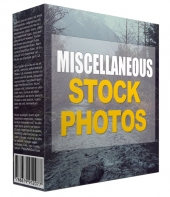 Miscellaneous Stock Photos Graphic with Resell Rights