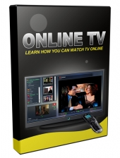 Online TV Video with Master Resell Rights/Giveaway Rights
